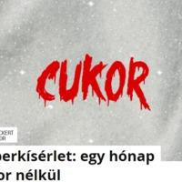 Emberkísérlet: egy hónap cukor nélkül - cikk Tihanyi András (Teljesítményfokozó Team) közreműködésével