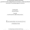 1000 oldal letölthető dietetikai szakirodalom: Klinikai és gyakorlati dietetika + Élelmiszer-tudományi ismeretek!