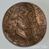 Mikes Kelemen bronz plakett