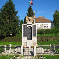 Hősi emlékmű - Nagykanizsa-Miklósfa