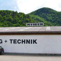 Közlekedési eszközök múzeuma Bad Ischl- közelében