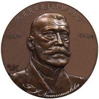 Kájlinger Mihály bronz plakett