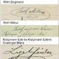 Autogrammok.