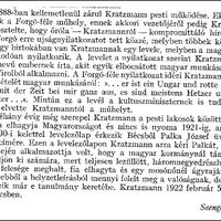 Kratzmann Ede újratöltve
