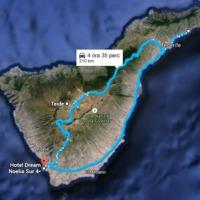 4 nap 1. rész - május 26 kedd - Teide - sziget túra