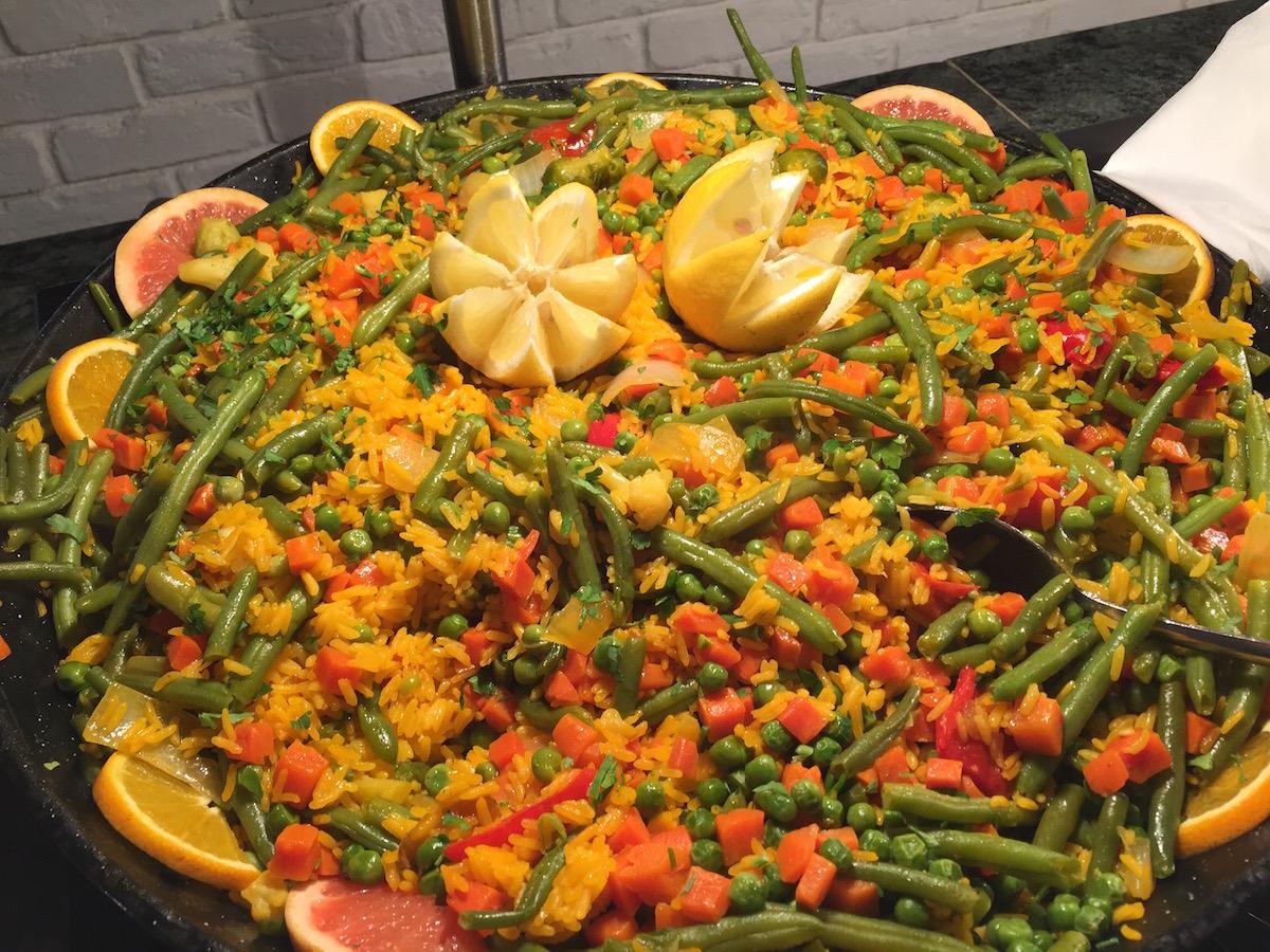 a spanyol paella