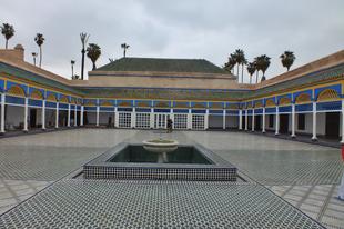 Marrákes, Bahia palota fotók