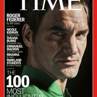 Federer a világ 100 legbefolyásosabb embere között