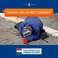 Magyarország jobban teljesít? - A szegénység növekedésében biztosan