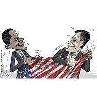 Obama vagy Romney - szorossá vált verseny