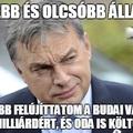 Orbán kisebb és olcsóbb államot ígért, na de mi a valóság?