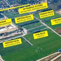 Stadionépítések Felcsúton és máshol az országban