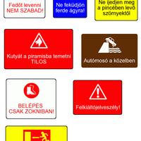 Alternatív figyelmeztető jelek