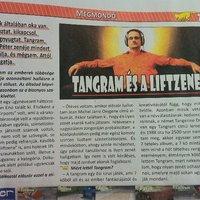 Fabók Péter, Jarre és a Tangerine Dream egy cikkben, egy szatírikus magazinban