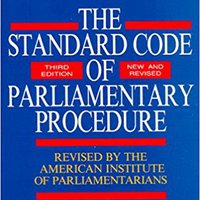 _TXT_ The Standard Code Of Parliamentary Procedure (Third Edition, New And Revised). tienda Fleet three Kavanagh tracking School Drivers contact