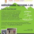 Kérjük támogassa ön is adója 1%-ával a Nomád Sport Alapítványt!