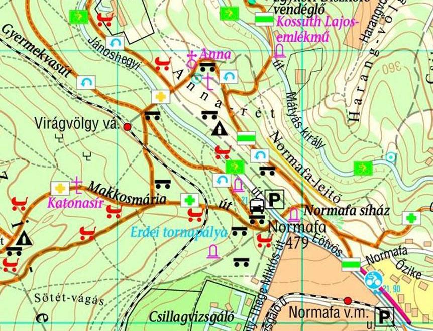 budapest normafa térkép terepgyerek budapest normafa térkép