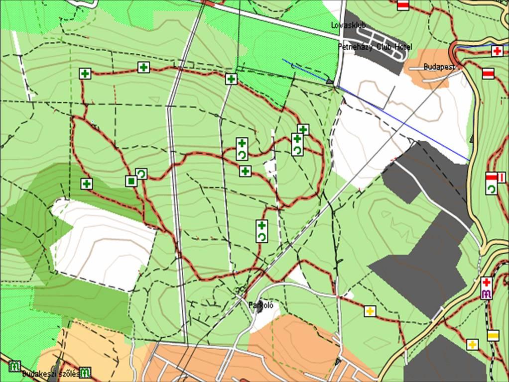 budakeszi vadaspark térkép Budakeszi Vadaspark   terepgyerek budakeszi vadaspark térkép
