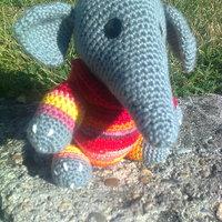 Elefánt horgolása lépésről lépésre