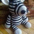 Zebra horgolása lépésről lépésre