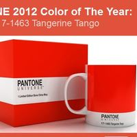 Tangerine Tango - 2012 év színe