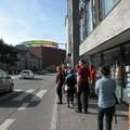 Szivárványgyűrű a város fölött - építész séta