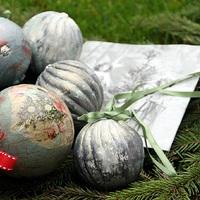 Karácsonyfadíszek saját kézből