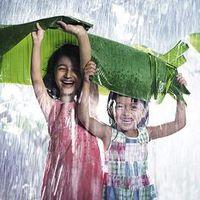 Örülj, ha esik az eső!