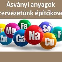 Ásványi anyagok a szervezetünk éltető elemei