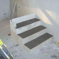 Lépcsőt? gipszbetonból!