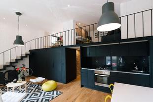 Inspiráló loft lakás Cordobában