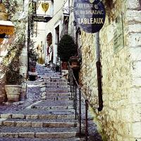 Lépcsők, spaletták, Provence