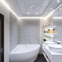 Nagyszerű burkolatok, kis fürdőszobák