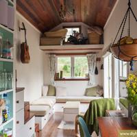 Új-zélandi házikó 17,3 négyzetméteren