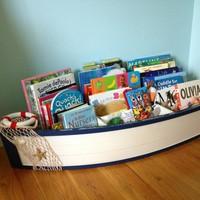 Könyvek a gyerekszobában - ötletesen
