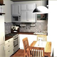 4 ötlet étkezős konyha berendezéséhez