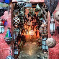 Türkiz, bűvölet, Marokkó