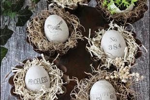 Húsvét különleges tojásokkal