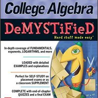 ?IBOOK? College Algebra DeMYSTiFieD, 2nd Edition. acronimo Cabify detalles precios GEORGE after