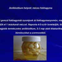 Antibiotikum helyett