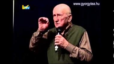 A bükki füvesember, Szabó Gyuri bácsi előadása Hódmezővásárhely 2013. április 10.