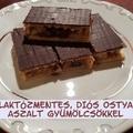 Laktózmentes Diós Ostya Recept Aszalt Gyümölcsökkel, Nyírfacukorral