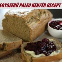 Egyszerű Gluténmentes Paleo Kenyér Recept