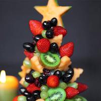 Szemet gyönyörködtető és finom - Egészséges karácsonyfák a karácsonyi asztalra
