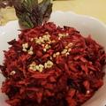 Alma, cékla, répa saláta