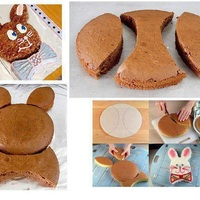 Süssünk húsvéti nyuszi alakú tortát!