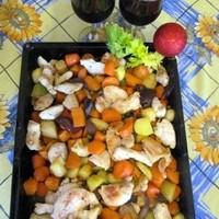 Ünnepi receptek - mézes, ízletes pirított zöldségköret