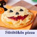 Töklámpás arcú sütőtökös pizza recept