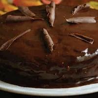 Ünnepi Csokitorta marcipánnal diétásan