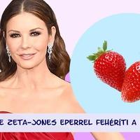 Catherine Zeta-Jones eperrel fehéríti a fogait